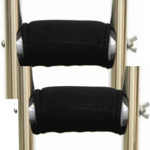 Premium Gel Crutch Hand Grip Covers (Pair) - Softens the Pain of Using Crutches