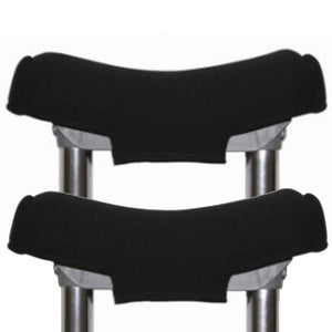 Premium Gel Crutch Top Covers (Pair) -Softens the Pain of Crutches