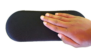 "Big Josh's Self-Adhesive 4"" X 8"" Oval Gel Pad for Protecting Elbows, Knees, Wrists, Back or Any Old Hard Spot"