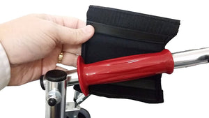 "Premium 5"" Gel Cane, Luggage & Tool Handle Cover (Single) - Softens the Grip"