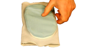 Medium Soft Flexible, Freezable Gel Pad w/ Elastic Sleeve for Healing Sports Injuries, Joint Aches & Arthritic Pains
