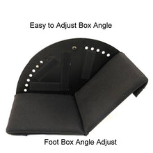 "Big Josh's Angle Adjustable 5"" x 5"" Foot Box with Gel Liner"