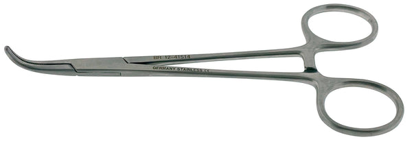 ADSON BABY Hemostatic Forceps, curved, 5½""