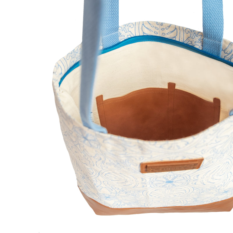 Tropical Leaf Basic Tote