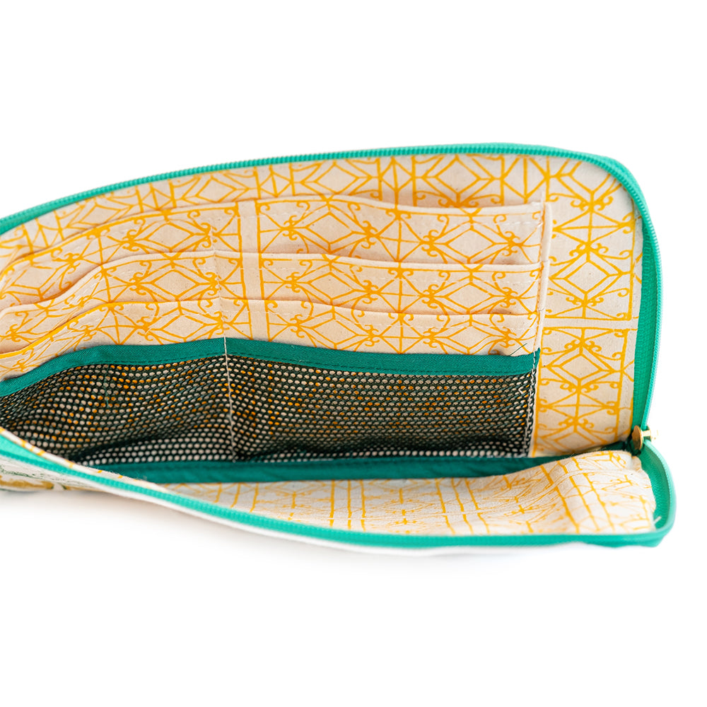 Kaya Coconut Travel Pouch