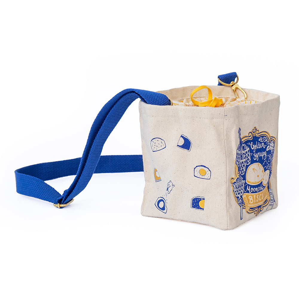 Blue Mooncake Bag