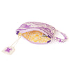 Purple Tea Cup Coin Pouch