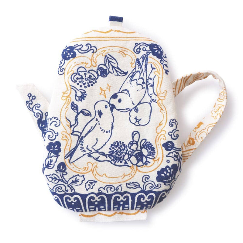 Lorikeet Blue Tea Pot Coin Pouch