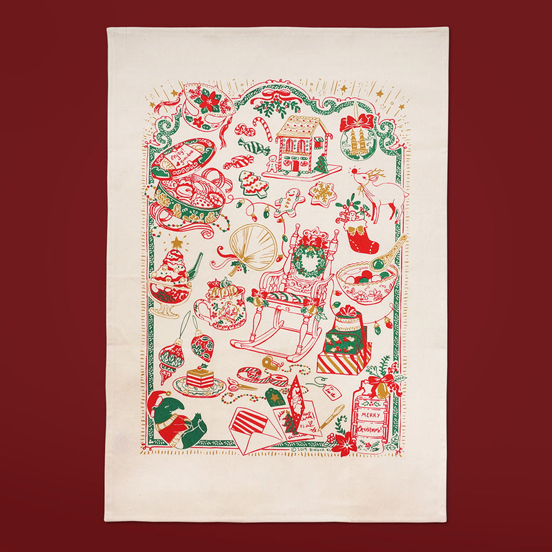 Christmas Special Tea Towel