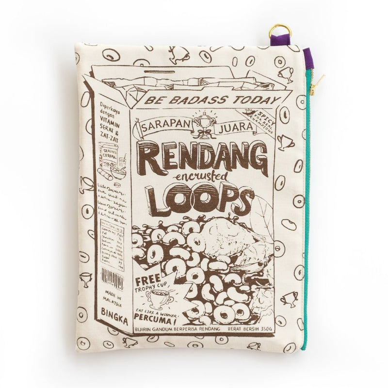 Rendang Cereal Pouch