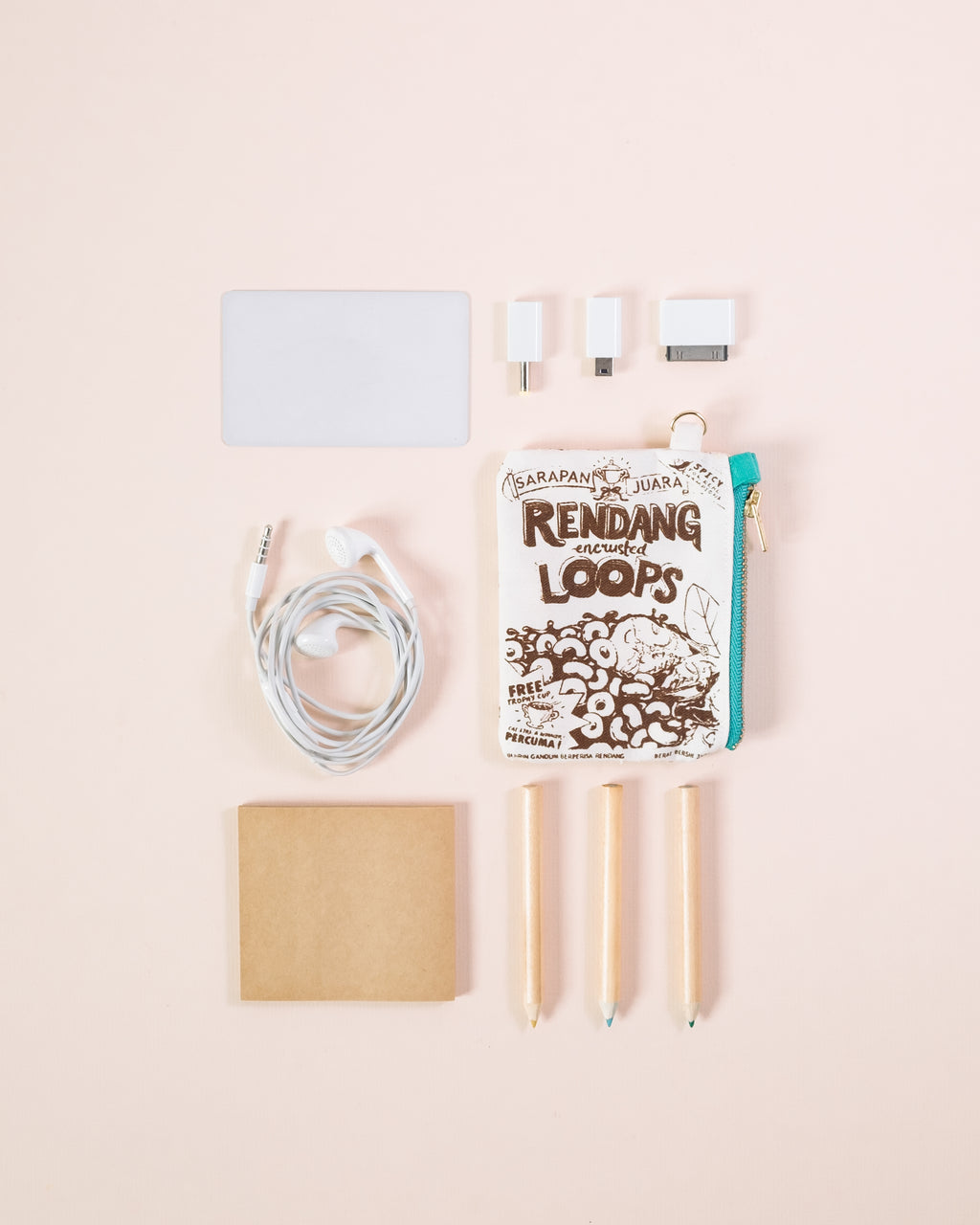 Rendang Loops Card Pouch