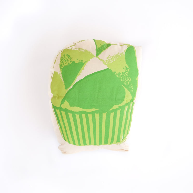 Huat Kuih Throw Pillow in Pandan