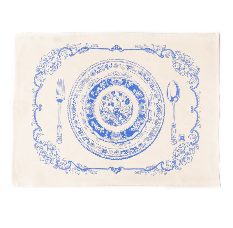 Chinoise Table Setting Tea Towel