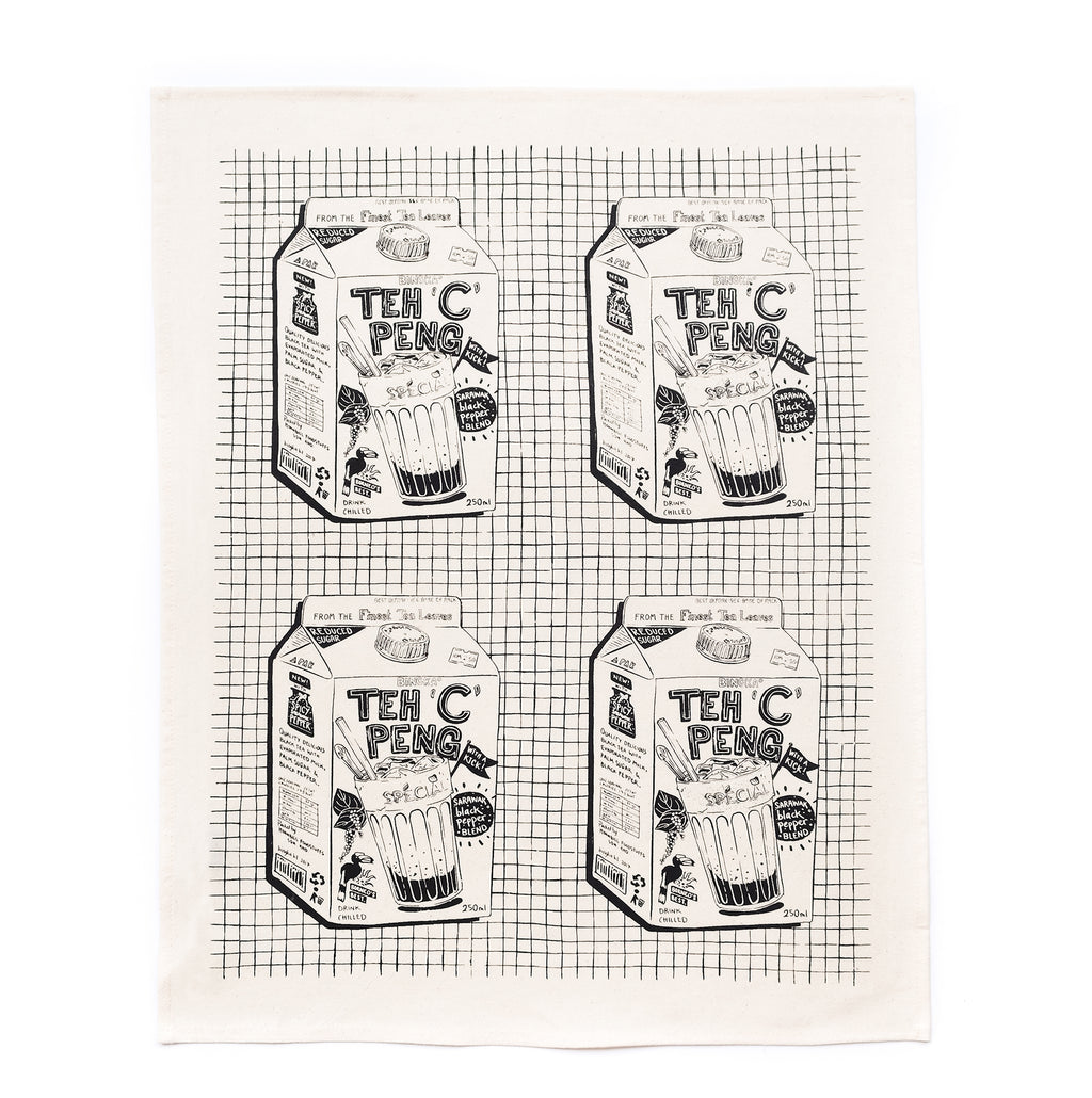 Teh C Peng Tea Towel