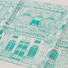 Colonial House Tea Towel