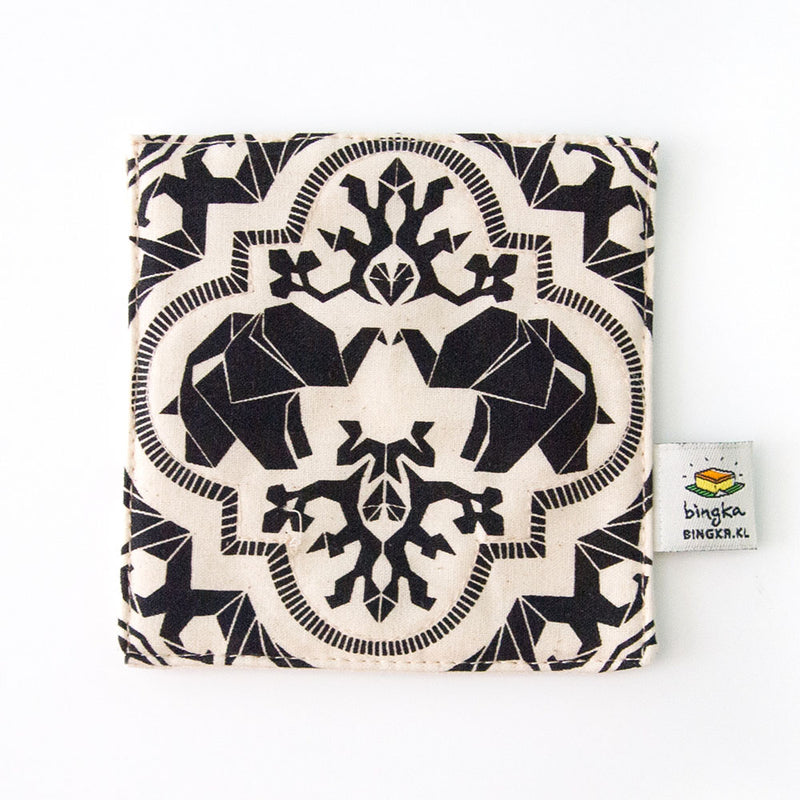 Black Mahagajah Coaster