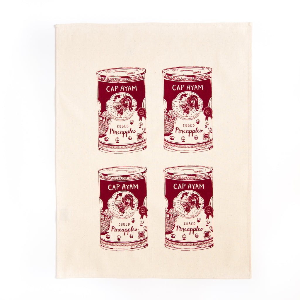 Cap Ayam Tea Towel