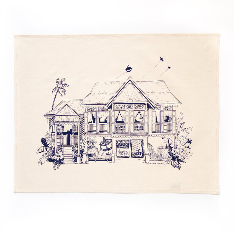 Kampung House Tea Towel