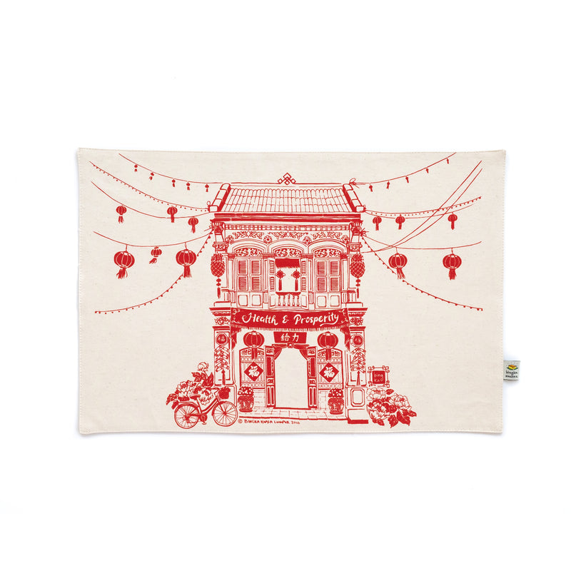 Chinese Shophouse Placemat