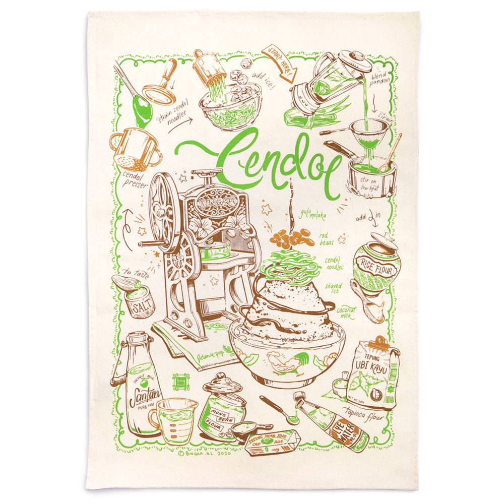 Cendol Tea Towel