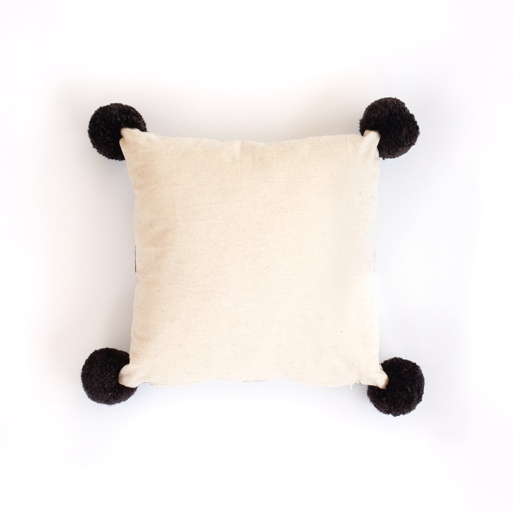 Mahagajah Pompom Pillow