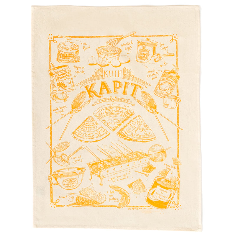Kuih Kapit Tea Towel