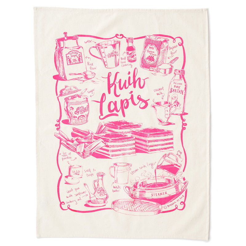 Kuih Lapis Tea Towel