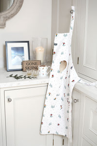 Skiing Adult Apron by Sophie Allport