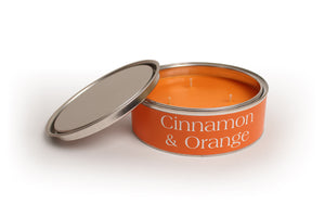 Large Cinnamon and Orange Candle