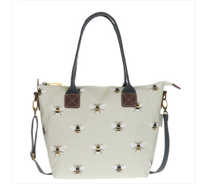Bees Mini Oilcloth Oundle Bag by Sophie Allport