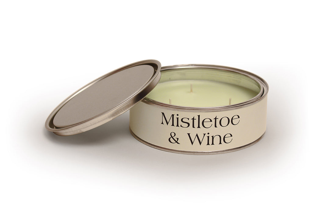 Mistletoe & Wine Large Candle