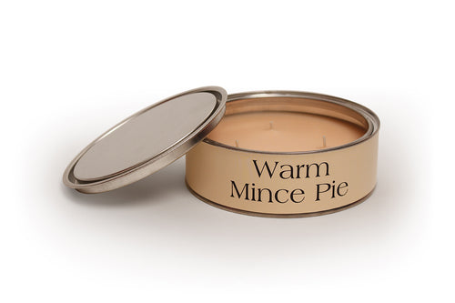 Warm Mince Pie Large Candle