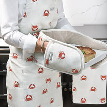 Sophie Allport Crab Double Oven Gloves
