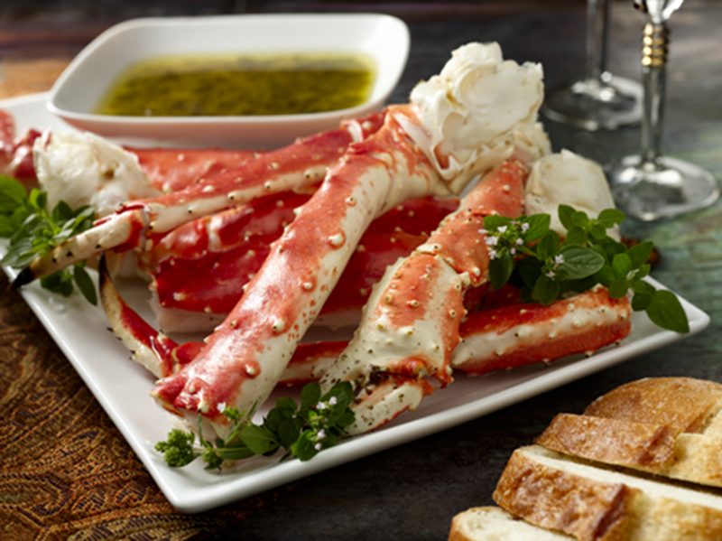 Alaska King Crab Provencal Recipe