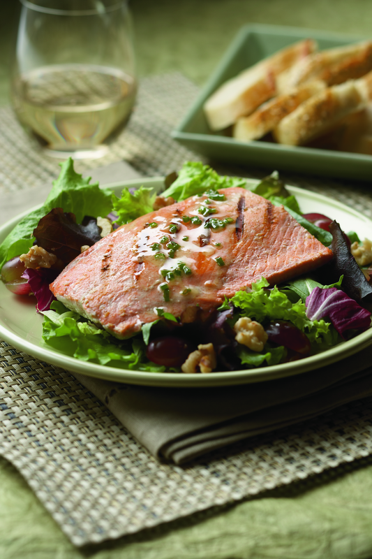 Salmon Salad Monterey Recipe