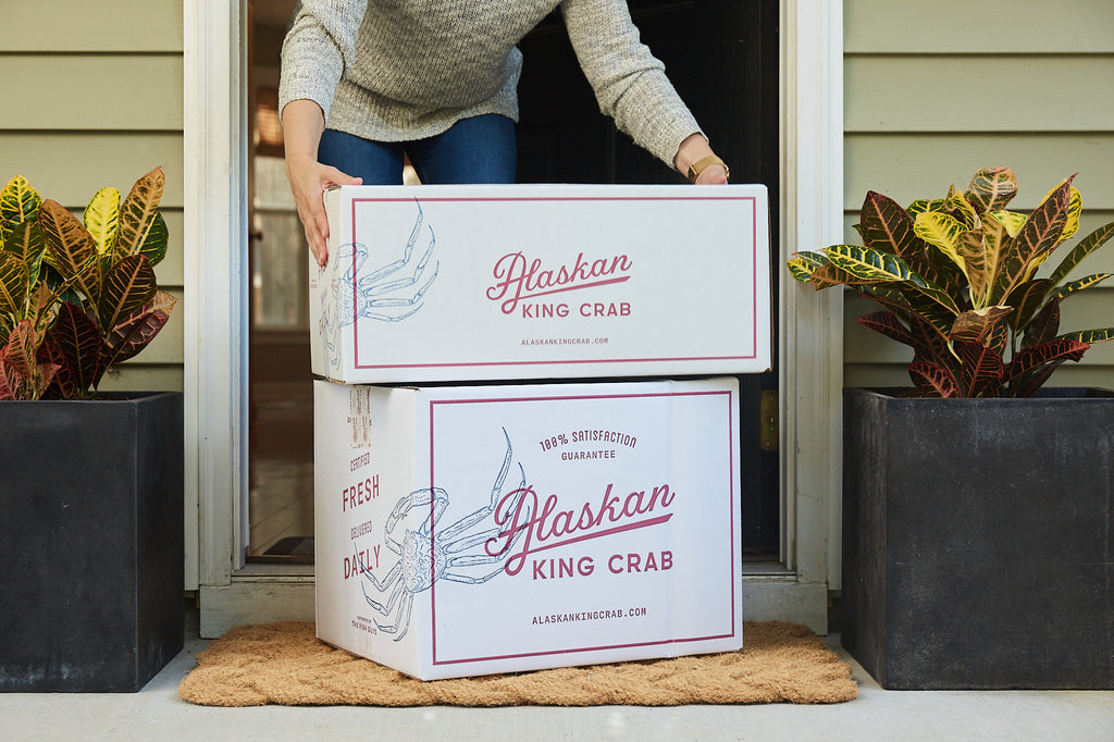 Alaskan king crab delivered to your door