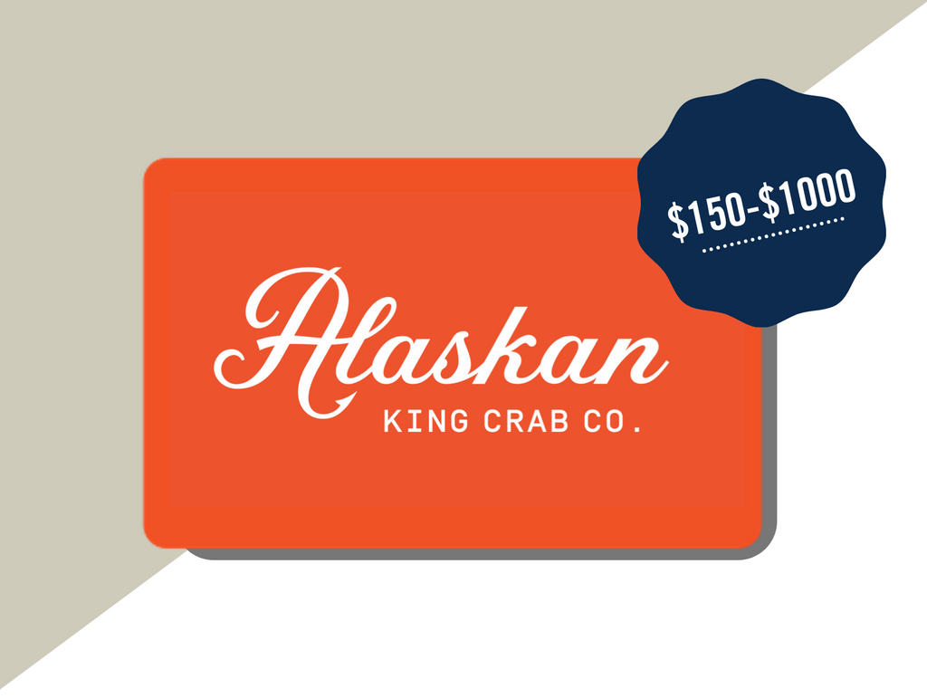 Alaskan King Crab Co. Gift Card (Physical)
