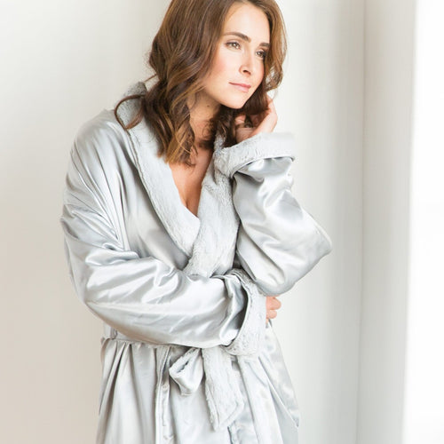 Luxe Satin Robe