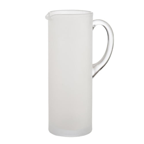 Frosted & Clear Martini Pitcher w/ Stirrer