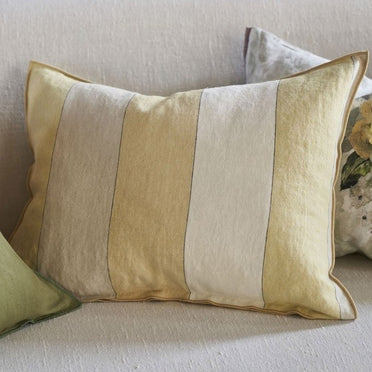 Brera Gessato Hemp Decorative Pillow