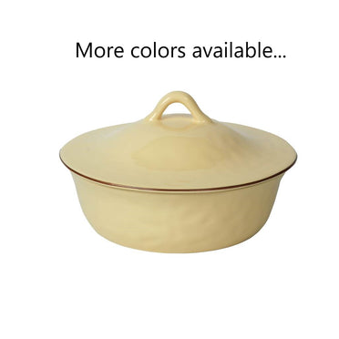 Cantaria Round Covered Casserole