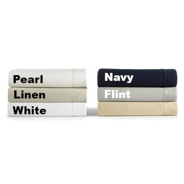 Angelina colors in pearl, linen, white, navy, and flint