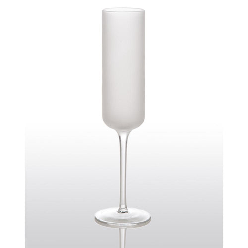 Frosted Champagne Flute