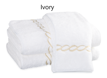 Classic Chain Bath Towels