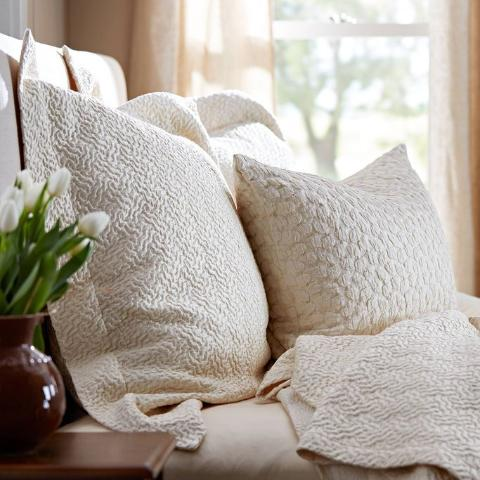The Purists Allegro Coverlets & Shams