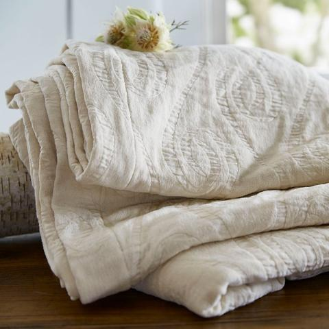 The Purists Adlon Coverlet & Shams
