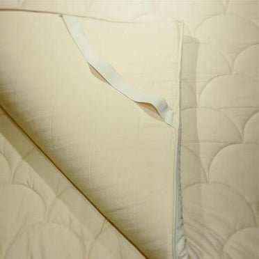Organic Latex & Wool Mattress Toppers