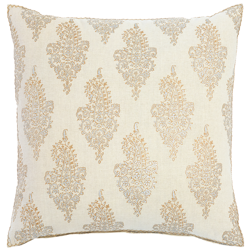 Visala Metallic Euro Decorative Pillow