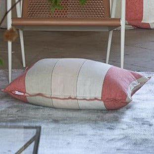 Brera Gessato Coral Decorative Pillow