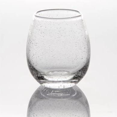 Bubble Stemless Wine Glasses (Set of 4)